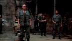 Ralph Fiennes, Gerard Butler and cast in Coriolanus