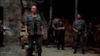 Ralph Fiennes, Gerard Butler and cast in Coriolanus