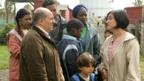 Omid Djalili, Diveen Henry, Luke Henry and Nathalie Armin in Grow Your Own