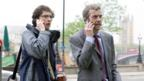 Chris Addison and Peter Capaldi in In The Loop