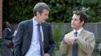 Peter Capaldi and Tom Hollander in In The Loop
