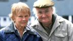 Judi Dench and Jim Broadbent in Iris