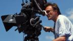 Director Danny Boyle on the set of Millions