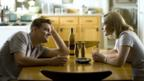 Leonardo DiCaprio and Kate Winslet in Revolutionary Road