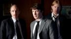 David Wilmot, Aidan Gillen, Domhnall Gleeson in Shadow Dancer