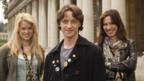 Alice Eve, James McAvoy and Rebecca Hall in Starter for Ten