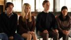 James McAvoy, Alice Eve, Benedict Cumberbatch and Elaine Tan in Starter for Ten