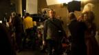 Ddirector Saul Dibb on the set of The Duchess