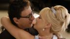 Geoffrey Rush and Charlize Theron in The Life and Death of Peter Sellers