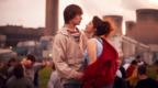 Elliott Tittensor and Emilia Clarke in Spike Island