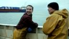Martin Compston and Peter Mullan in True North