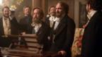 Tom Hollander, Ralph Fiennes and supporting cast in The Invisible Woman