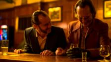 Dom Hemingway interviews with Jude Law & Richard E. Grant