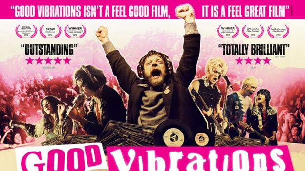 New UK poster for Good Vibrations - coming to cinemas soon