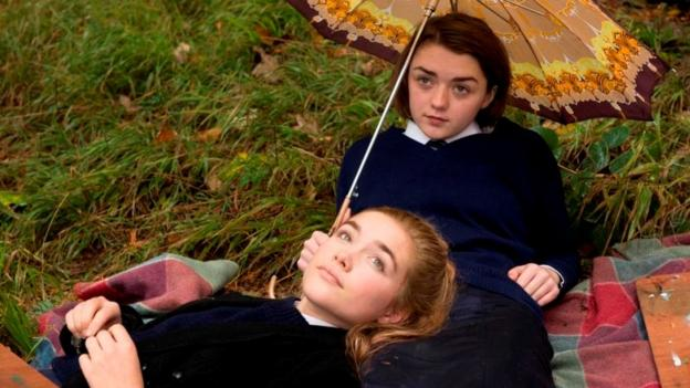 Florence Pugh and Maisie Williams star in Carol Morley's The Falling