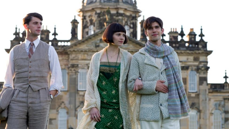 Matthew Goode, Hayley Atwell and Ben Whishaw in Brideshead Revisited