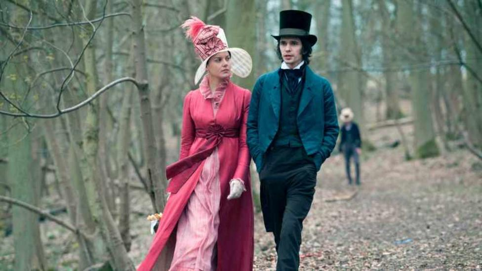 Abbie Cornish and Ben Whishaw in Bright Star