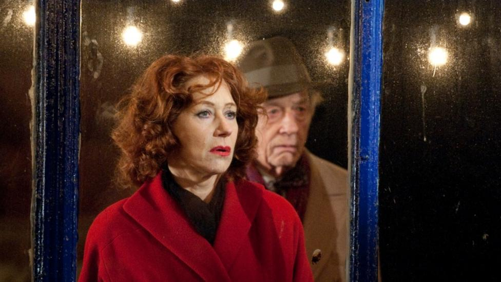 Helen Mirren and John Hurt in Brighton Rock