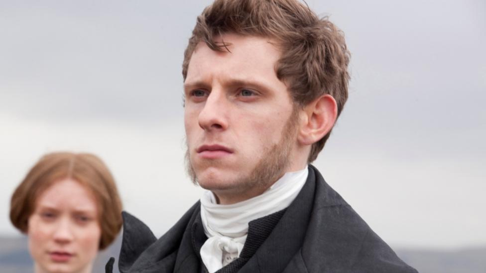 Mia Wasikowska and Jamie Bell in Jane Eyre