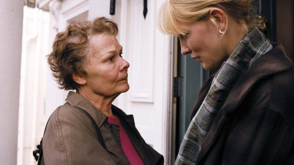 Cate Blanchett and Judi Dench in Notes On A Scandal