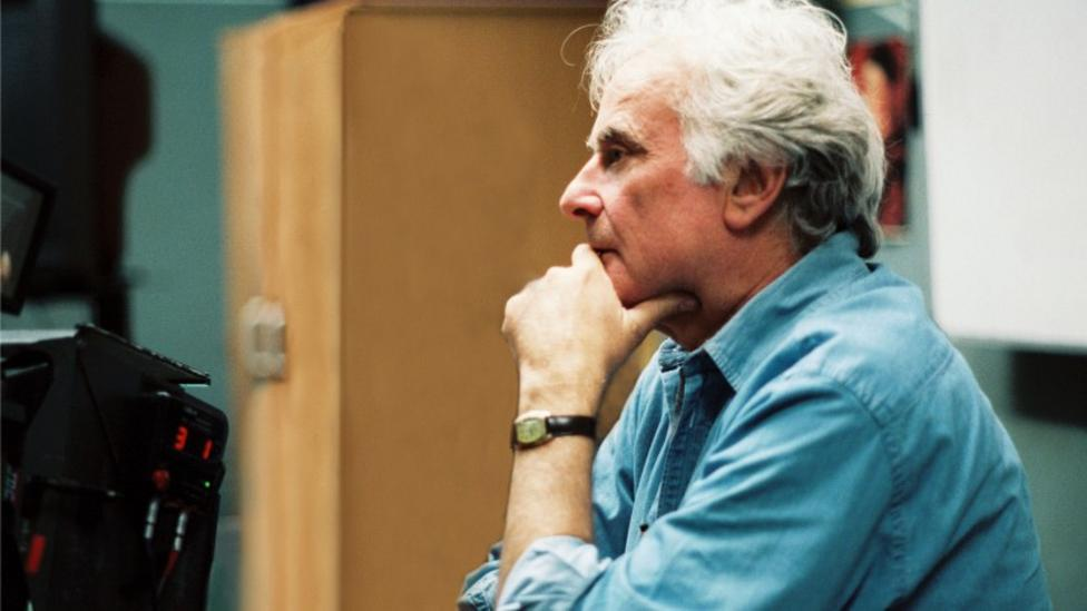 Richard Eyre on the set of Notes On A Scandal