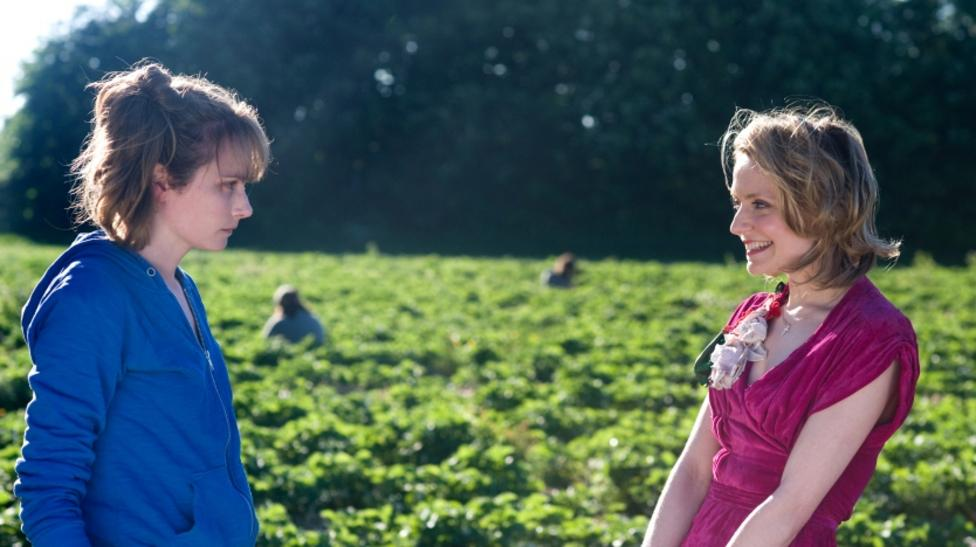 Anna Madeley and Christine Bottomley in Strawberry Fields