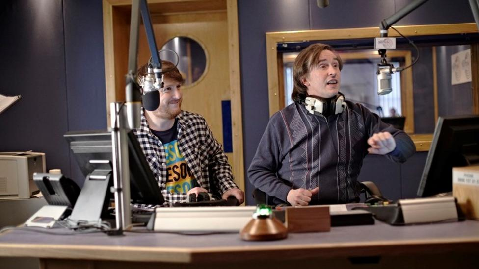 Tim Key and Steve Coogan in Alan Partridge: Alpha Papa