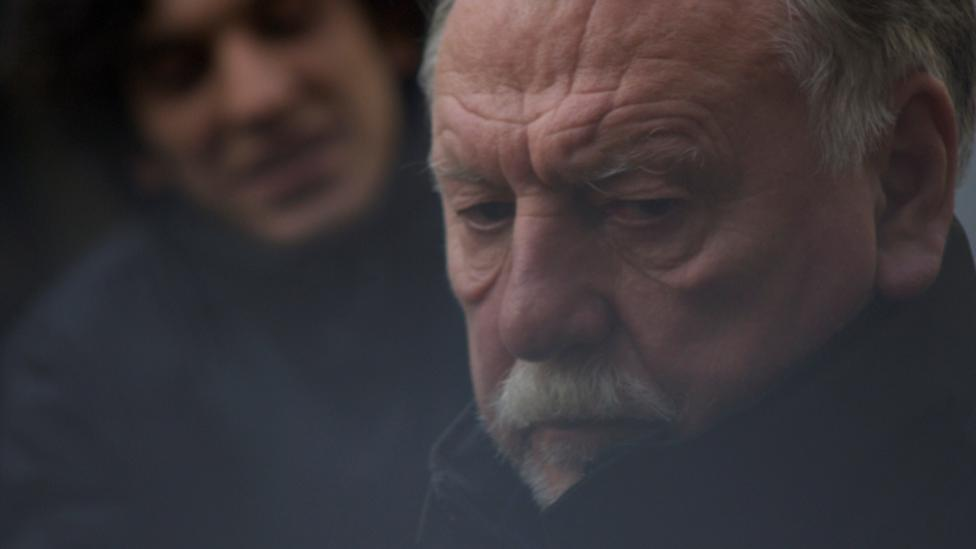Najib Oudghiri and Kenneth Cranham in Flying Blind