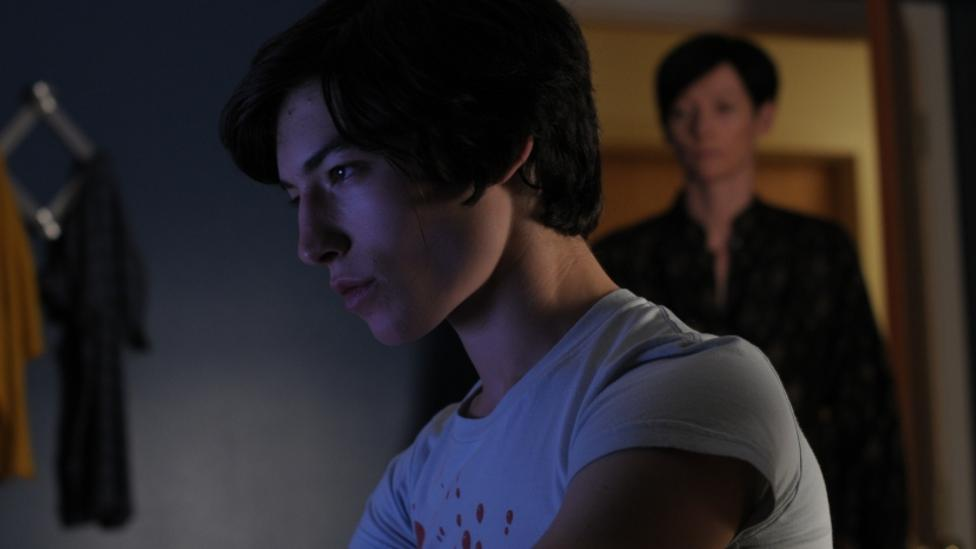 Ezra Miller and Tilda Swinton in We Need To Talk About Kevin