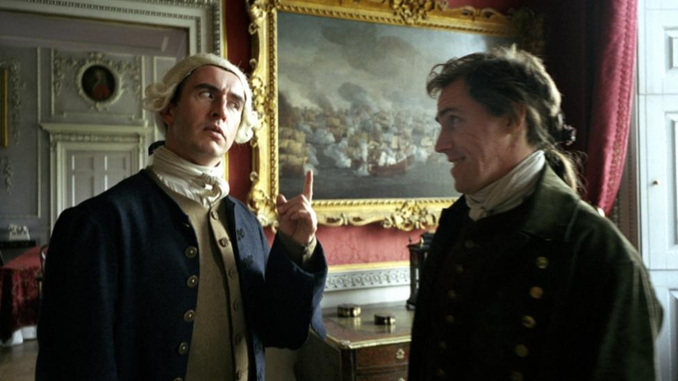 Rob Brydon and Steve Coogan in A Cock And Bull Story