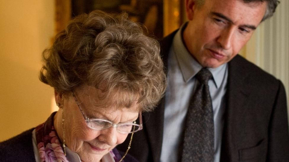 Judi Dench and Steve Coogan in Philomena