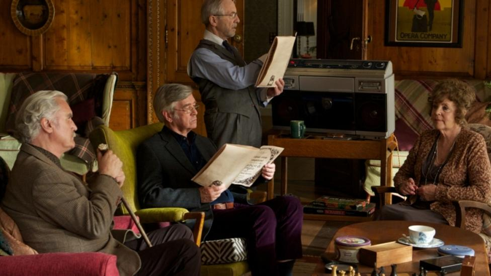 Billy Connolly, Tom Courtenay, Andrew Sachs, Pauline Collins in Quartet