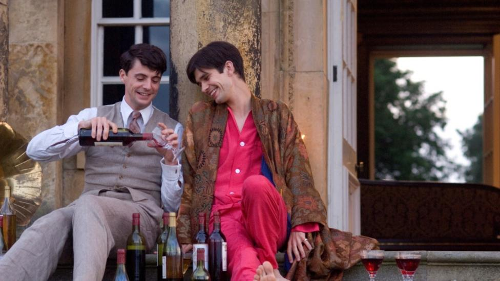 Matthew Goode and Ben Whishaw in Brideshead Revisited