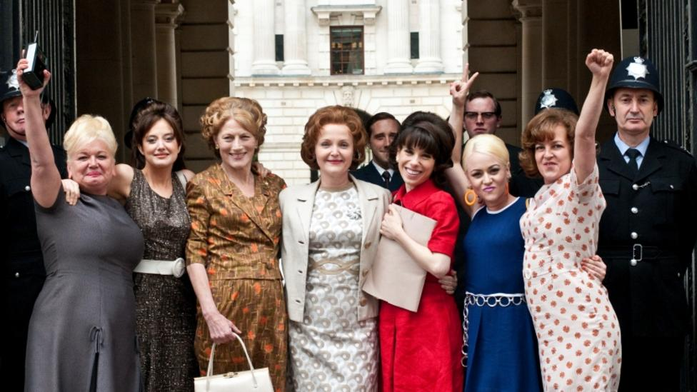 Ensemble cast of Made In Dagenham