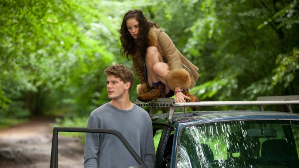 Jeremy Irvine and Kaya Scodelario in Now Is Good