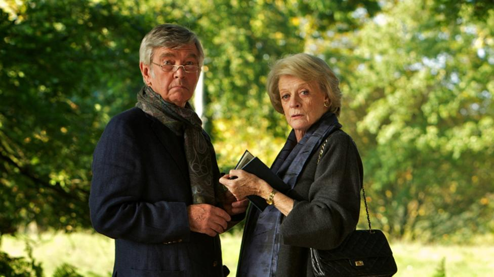 Tom Courtney and Maggie Smith in Quartet
