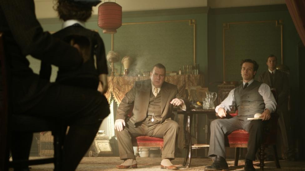 Timothy Spall and Guy Pearce in Death Defying Acts