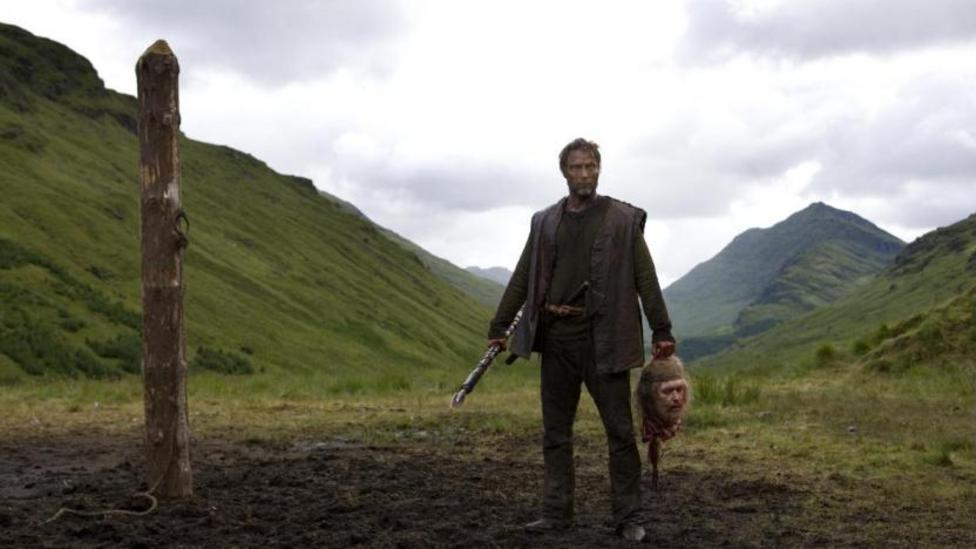 Mads Mikkelson in Valhalla Rising