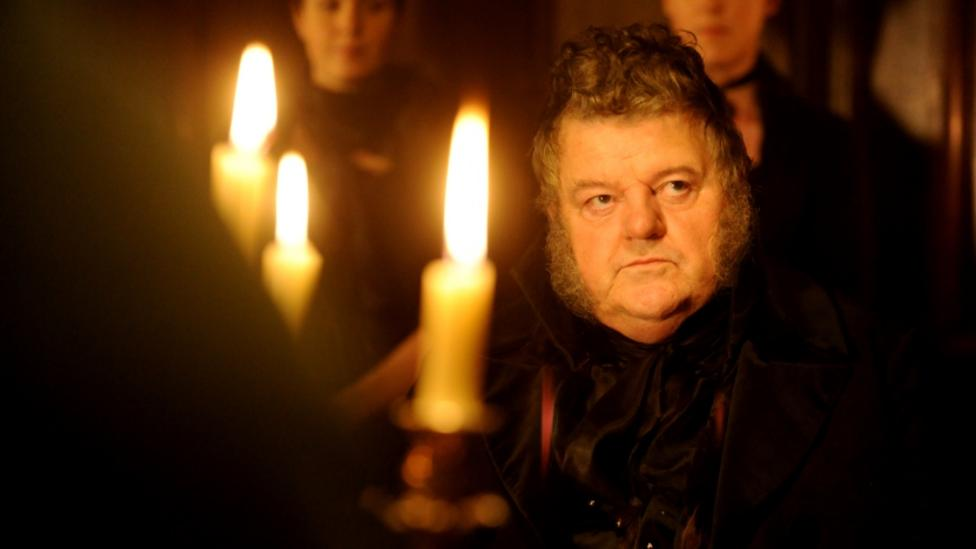 Robbie Coltrane in Great Expectations