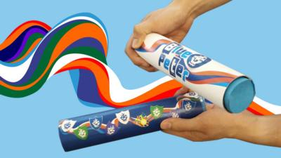 Blue Peter - Make your own badge baton