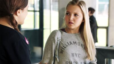 The Dumping Ground - Tee interviews for college