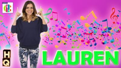 CBBC HQ - Lauren's Profile