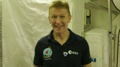 Blue Peter - Merry Christmas from Tim Peake