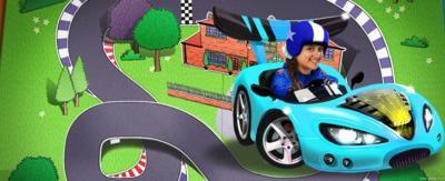 Carmen in the All Star Racing game
