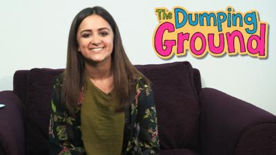 The Dumping Ground - Amy-Leigh Hickman answered your questions!