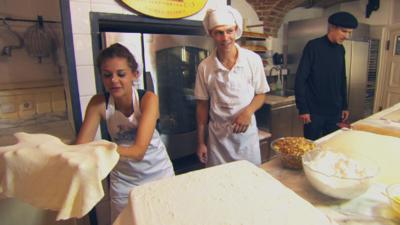 All Over the Place Europe - Strudel making in Vienna