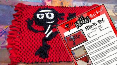 Art Ninja - Make an Art Ninja rug