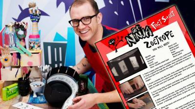 Art Ninja - Make a zoetrope