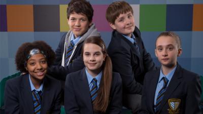 Awkward. TV Series Cast Members