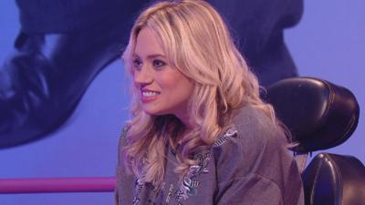 Sam & Mark's Big Friday Wind-Up  - Kimberly Wyatt does the Macarena... at super speed!